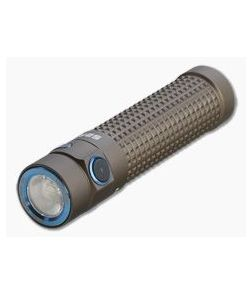 Olight S2R Baton II Desert Tan Limited Edition Rechargeable 1150 Lumen LED Flashlight