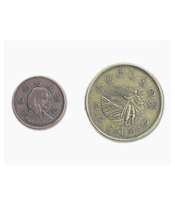 Shire Post Mint Mistborn Set #2 - Two Coins of Elendel Copper and Brass