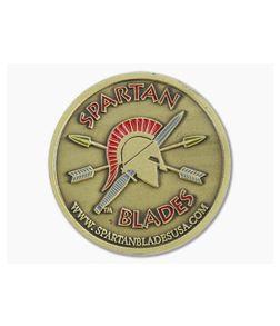 Spartan Blades Challenge Coin