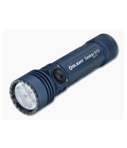 Olight Seeker 3 Pro Night Wolf Blue LTD Magnetic Rechargeable 4200 Lumen LED Flashlight