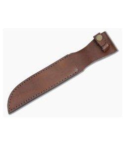 "Leather Fixed Blade Knife Sheath 7"" Tan"
