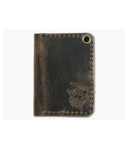 Hitch & Timber Sheepshank Crazy Horse Leather Bifold Wallet