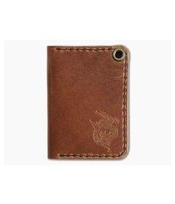Hitch & Timber Sheepshank Bi-fold Wallet English Tan Leather