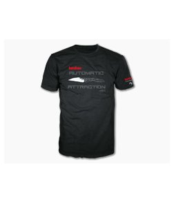 "Kershaw Knives Launch 13 ""Automatic Attraction"" Extra Large XL T-Shirt"