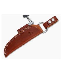 TOPS Knives B.O.B Bushcraft Brown Leather Sheath