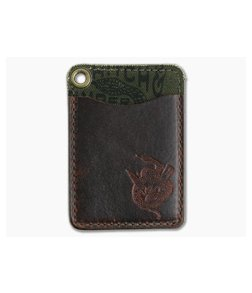 Hitch & Timber Short Fold Card Wallet Autumn Harvest Leather