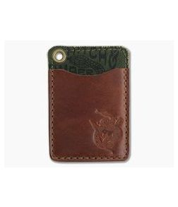 Hitch & Timber Short Fold Card Wallet Chestnut Leather