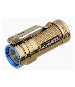 Olight S Mini Baton CU Rose Gold LED Flashlight 550 Lumens