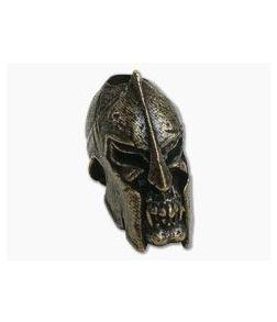 Schmuckatelli Spartan Skull Bead Oil-Rubbed Bronze Pewter