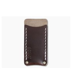 Scout Leather Co. Single Sheath Pocket Protector Brown Leather
