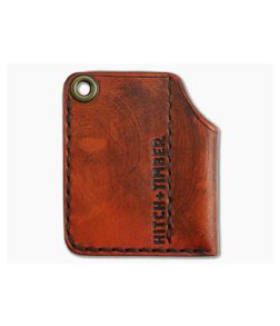 Hitch & Timber Stout Slip Saddle Tan Leather EDC Slip & Pen Holder