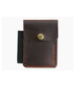 Hitch & Timber Surveyor Autumn Harvest Leather Brass Snap Wallet