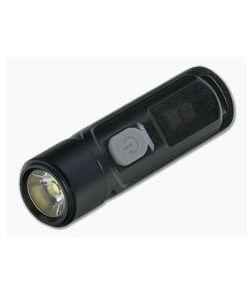 NiteCore TIKI LE Black 300 Lumen USB Rechargeable Key Chain LED Flashlight