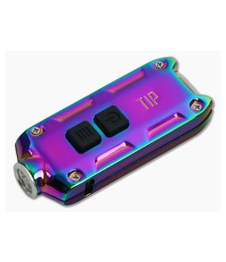 NiteCore TIP Stainless Steel Tropical 360 Lumen Micro-USB Rechargeable Keychain Flashlight