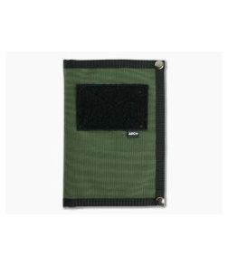Arc Company The Tracker EDC Notebook Cover Green