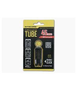 NiteCore Tube USB Rechargebale Keychain Light Black