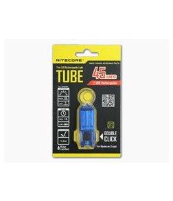 NiteCore Tube USB Rechargebale Keychain Light Blue