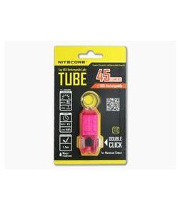 NiteCore Tube USB Rechargebale Keychain Light Pink