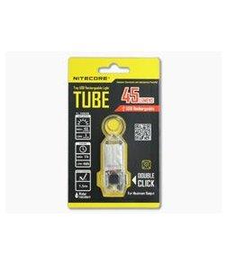 NiteCore Tube USB Rechargebale Keychain Light Transparent