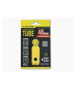 NiteCore Tube USB Rechargebale Keychain Light Lemon Yellow