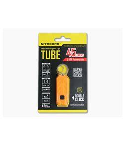 NiteCore Tube USB Rechargebale Keychain Light Orange
