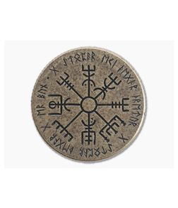 Shire Post Mint Vegvisir Wayfinder Coin Bronze