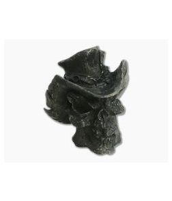 Schmuckatelli Vinnie Garoon Cowboy Skull Bead Black Ox Pewter
