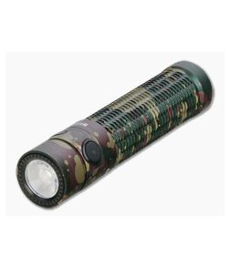 Olight Warrior Mini Camo Limited Edition Tactical Rechargeable 1500 Lumen Cool White LED Flashlight