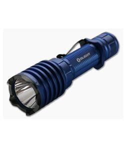 Olight Warrior X PRO Blue Limited Edition 2100 Lumen Tactical Tail Switch LED Flashlight