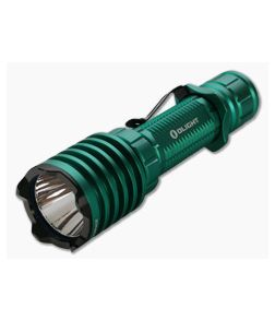 Olight Warrior X PRO Green Limited Edition 2100 Lumen Tactical Tail Switch LED Flashlight