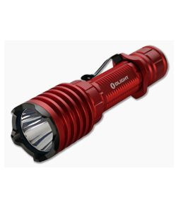 Olight Warrior X PRO Red Limited Edition 2100 Lumen Tactical Tail Switch LED Flashlight