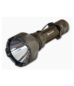 Olight Warrior X Turbo Desert Tan Limited 1100 Lumen Tactical Tail Switch LED Flashlight