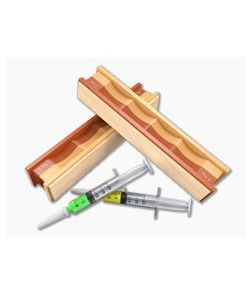 Wicked Edge 5/3.5 Micron Diamond Paste Syringes and Balsa Strops Pack