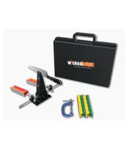 Wicked Edge Portable C-Clamp Precision Sharpener with Hard Case WE120P