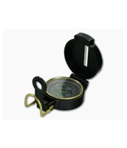 Ultimate Survival Gear Black Lensatic Compass