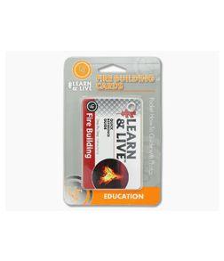 Ultimate Survival Gear Fire Building Cards