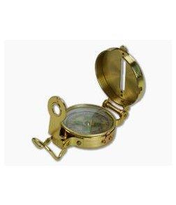 Ultimate Survival Gear Heritage Brass Lensatic Compass