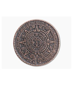 Shire Post Mint Aztec Sun Stone Calendar Worry Coin Copper