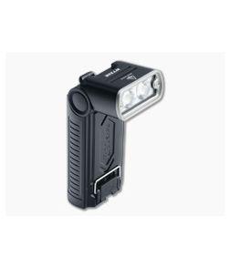 Fenix WT20R Black 400 Lumen Rechargeable Adjustable Angle LED Flashlight WT20RXBK