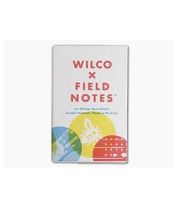 Field Notes X Wilco Box Set - Dot-Graph Paper Memo Notebook 6 Pack