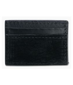 Yoder Leather Company Black Hippo Clip Wallet