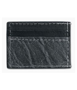Yoder Leather Company Gray Elephant Clip Wallet