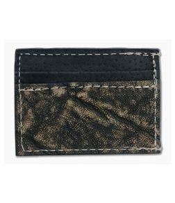 Yoder Leather Company Treebark Elephant Clip Wallet