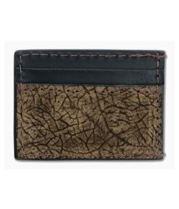Yoder Leather Company Brown Hippo Clip Wallet