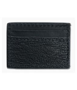 Yoder Leather Company Black Shark Clip Wallet