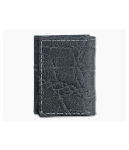 Yoder Leather Company Gray Elephant Trifold Wallet