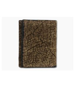 Yoder Leather Company Tan Hippo Trifold Wallet