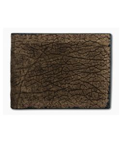 Yoder Leather Company Brown Hippo Regular ID Window Bifold Wallet