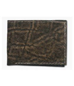 Yoder Leather Company Treebark Elephant Regular ID Window Bifold Wallet
