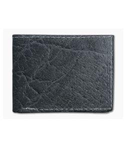 Yoder Leather Company Gray Elephant Regular ID Window Bifold Wallet